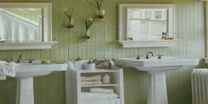 Son Yılların Modası Country Tarzı Banyo Dekorasyonu Fikirleri
