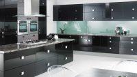 Koyu Renk Sevenlere Siyah Mutfak Dolapları