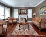 Oturma Odası Klasik Mobilya Renk Uyumu