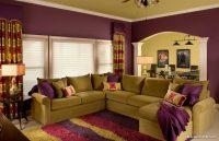 Oturma Odası Koltukları ve Duvar Boyası Renk Uyumu