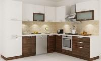 Kahverengi Hazır Mutfak Dolapları