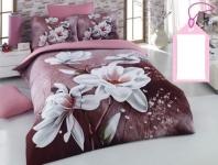 Çiçek Desenli Uyku Seti