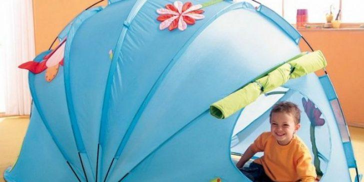 Çocuk Odası Dekorasyonunda Çocuklar İçin Çadırlar Kurun