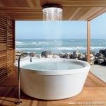 Deniz Kenarı Açık Hava Banyosu
