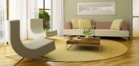 Doğal Renklerden Oluşan Salon Dekorasyonu Fikirleri