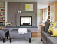 Doğal Renklerle Tasarlanan En Güzel Salon Modelleri