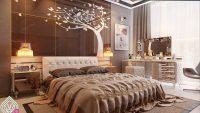 Kahverengi Yatak Odası Sevenler İçin Fikirler