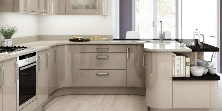 Değişik Bir Renk Kapuçino (Cappuccino) Rengi Mutfak Tasarımları