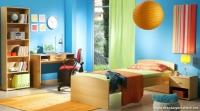 İç Açıcı Açık Renkler Barındıran Genç Odası