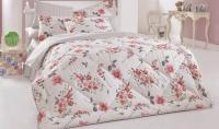 Kırmızı Pembe Çiçekli Uyku Seti