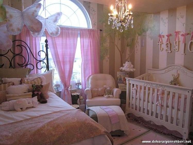 Kız Çocuklar İçin Oda Dekorasyon Fikirleri