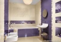 Mor Sarı Banyo Örnekleri