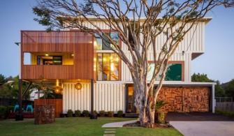 Mükemmel Tasarımlı Konteyner Ev Örneği