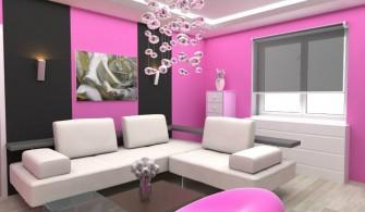 Pembe Renkli Dekorasyon