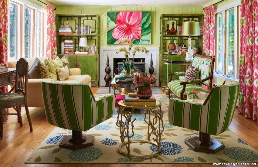 Yeşil Oturma Odası