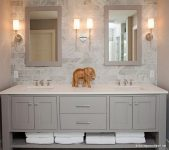 Açık Renk Banyo Dolapları
