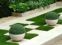 Estetik Görünümlü Bahçe Dekorasyonu