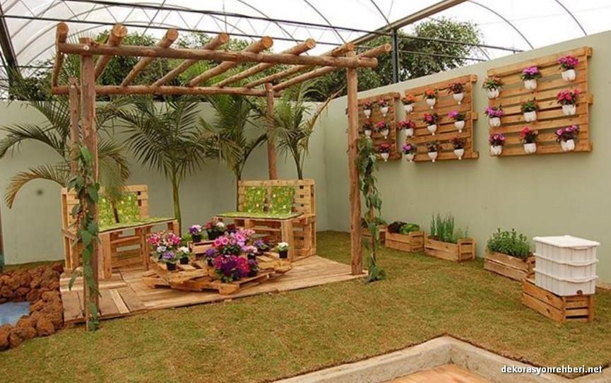 Kapalı Bahçe Dekorasyonu