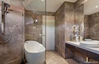 Taşlı Banyo Dekorasyonu