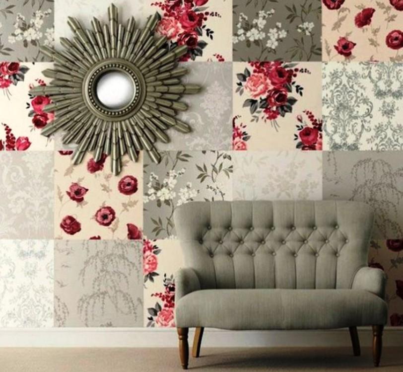 Patchwork Duvar Dekorasyonu