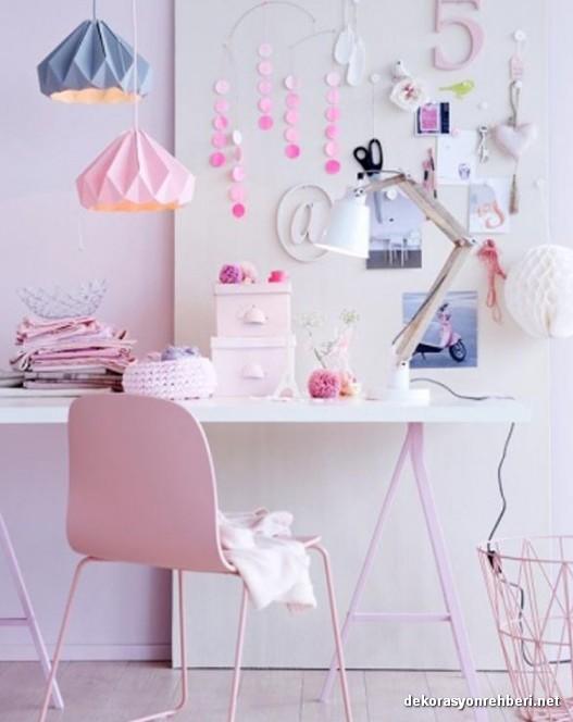 Bayanlar İçin Pastel Renkli Ofisler