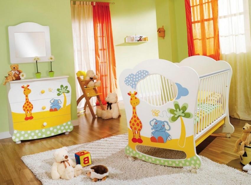 Bebek Odalarına Çizgi Film Karakterli Aksesuarlar