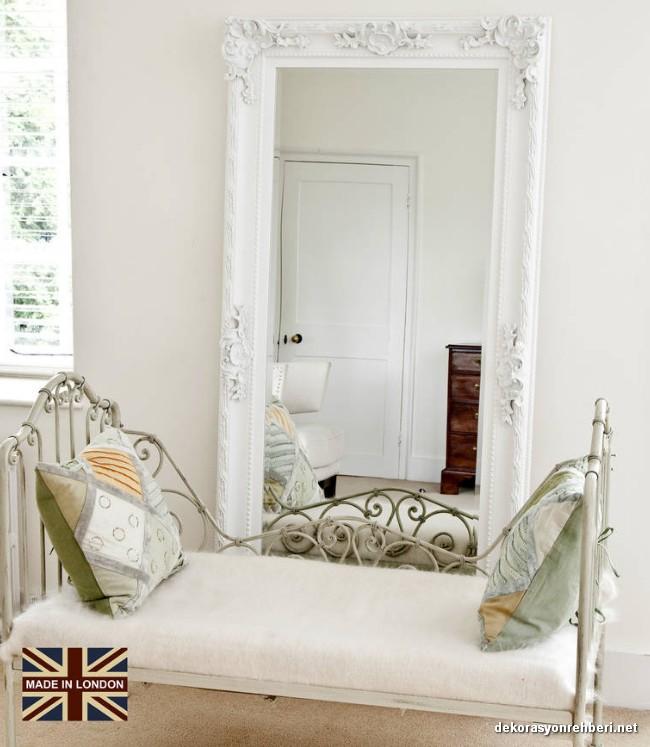 Beyaz Boy Aynası