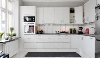 Beyaz Renk Mutfak Dolabı Modelleri
