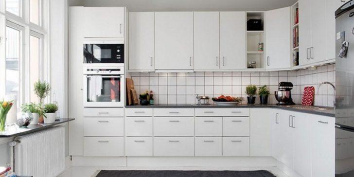 Ferah Mutfaklar İçin Beyaz Mutfak Dolapları