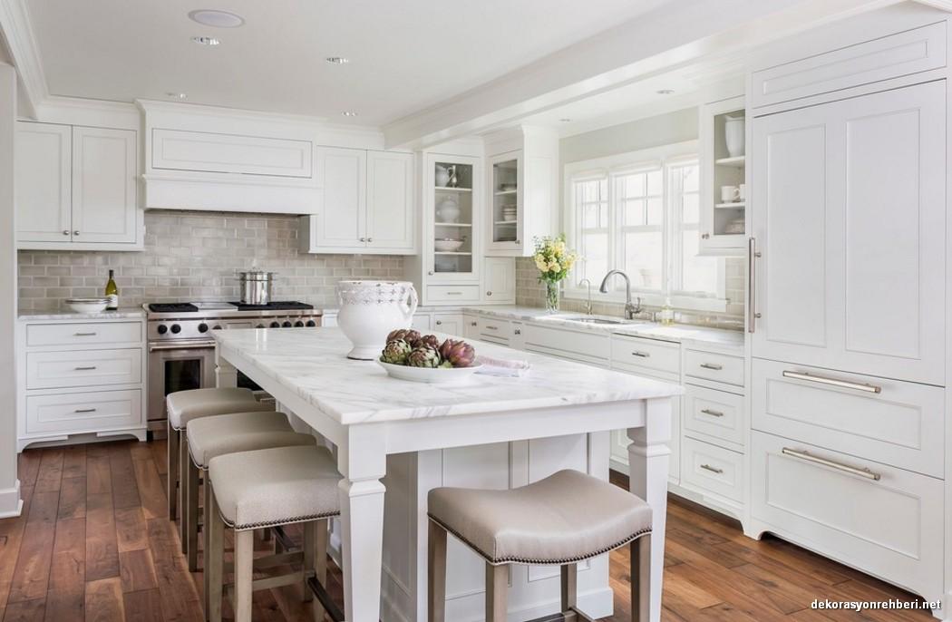 Beyaz Renk Mutfak Modelleri
