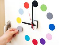 Buzdolabı İçin Magnetli Saat Yapımı