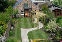 Çimli Bahçe Dekorasyonu