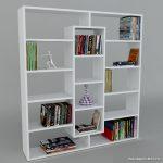 Dekorsiter Geniş Kitaplık Modeli