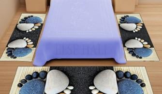 Else 3 Boyutlu Yatak Odası Halı Modeli