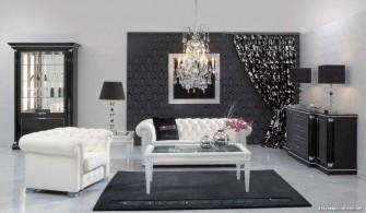 En Güzel Siyah Beyaz Ev Dekorasyonları