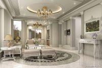 En Tarz Klasik Ev Dekorasyonları
