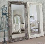 Gümüş Dekoratif Boy Aynası