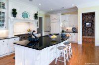 İhtişamlı Beyaz Mutfak Tasarımı
