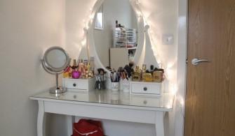 Işıklı Makyaj Masası Modelleri