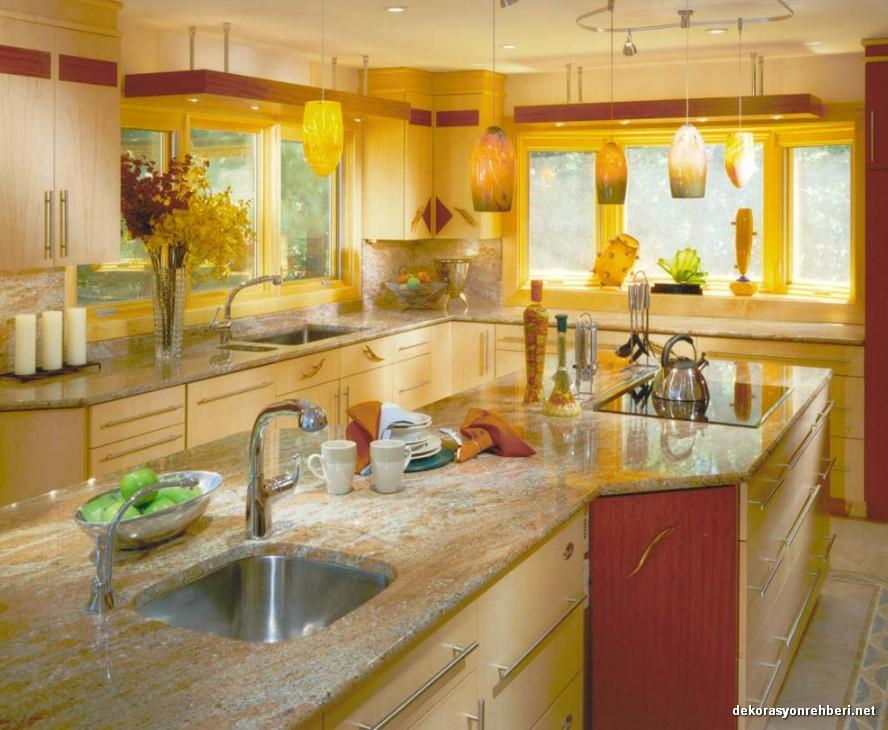 Işıklı Mutfak Dekorasyonları