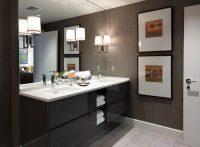 Kahverengi Temalı Modern Banyo Modelleri