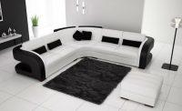 Klasik İtalyan Siyah Beyaz Köşe Takımı Modelleri