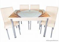 Kristal Yemek Masası Modelleri