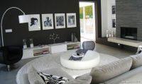 Küçük Evler İçin Siyah Beyaz Dekorasyon