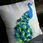 Kuş Figürlü Dekoratif Yastık Modelleri