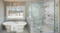 Küvetli Banyo Dekorasyonu