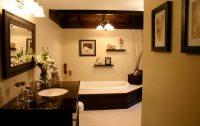 Lüks Modern Banyo Dekorasyonu