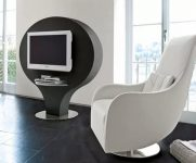 Lüx Beyaz Tv Koltuk Modeli