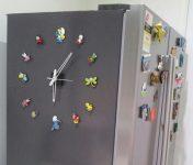Magnetli Şirinler Saat Modeli