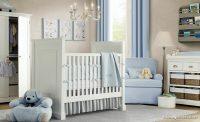 Mavi Renk Bebek Odası Modelleri